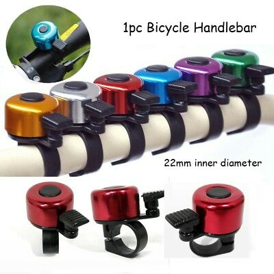 Alloy Metal Ring Cycling Bicycle Handlebar  Horn Sound Alarm Safety Bike Bell