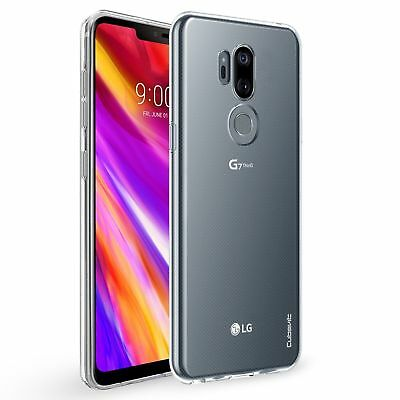 Soft Slim TPU Silicone Transparent Clear Case Cover For LG G7 ThinQ Q8 2018