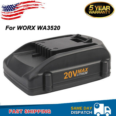 20V Max FOR WORX WA3520 WA3525 Battery WG545 WG155 WG255 WG890 Lithium-ion 2.0AH
