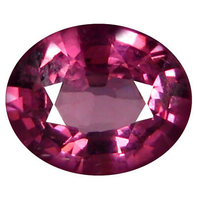 1.11 Ct AAA+ Incomparable Forme Ovale (7 X 6 mm) Rosé Rouge Grenade Rhodolite