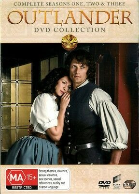 """OUTLANDER: Season 1-3"" DVD, 17 Disc Set - Regions [4][2][5] BRAND NEW"