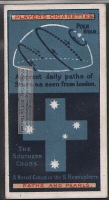 Rise and Set Stars  Astronomy  100+ Y/O Trade Ad Card