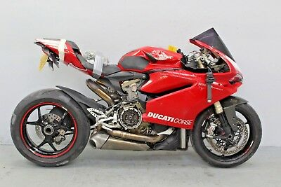 2015 Ducati 1299 Panigale Damaged Spares Or Repair ***no Reserve*** (16733)