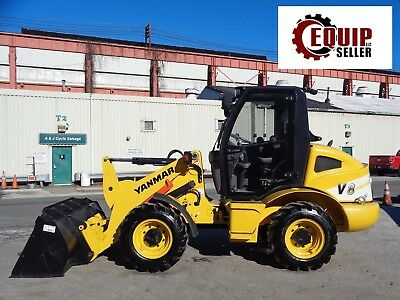 New Unused Yanmar V8  Wheel Loader Skid Steer  - Diesel - Enclosed Cab