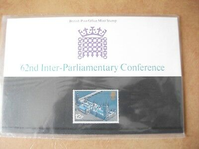 GB : QEII 1975 62nd Inter-Parliamentary Conference - Presentation Pack 74