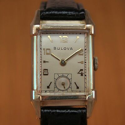 1949 BULOVA 'HIS EXCELLENCY' Vintage Watch / 10k gold filled / JUST SERVICED