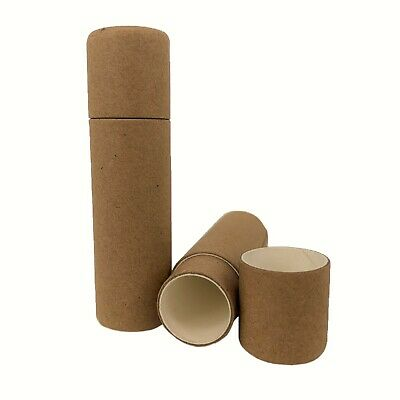 Nutley's Cardboard Lip Balm Lipstick Tubes Biodegradable Natural Recyclable 14ml