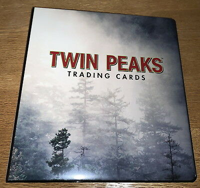 Twin Peaks Trading Cards Binder with Exclusive P3 Promo Card