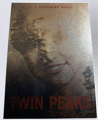 "Twin Peaks Trading Cards ""It's Happening Again"" HA2 Laura Palmer Insert Card"