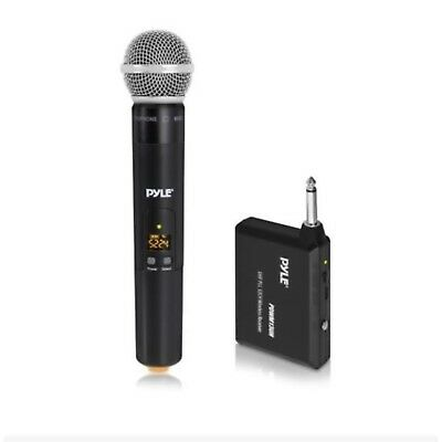 Pyle UHF 32-Channels Portable Wireless Microphone System w/ Handheld Microphone