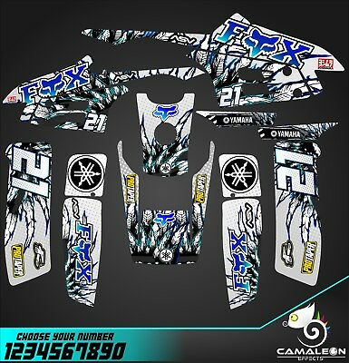 Yamaha Warrior 350 Graphics Decal kit sticker