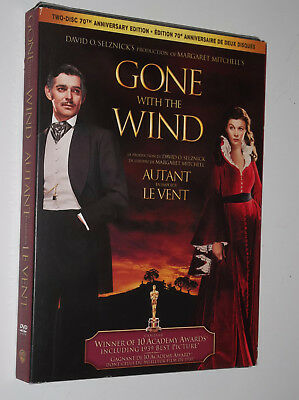 Gone With the Wind : 2-disc 70th Anniversary + SLIPCOVER - Brand New