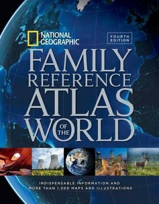 National Geographic Family Reference Atlas of the World, Fourth... 9781426215438