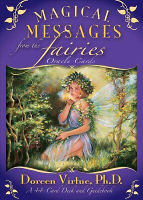 Magical Messages From The Fairies Oracle Cards by Doreen Virtue 9781401917036