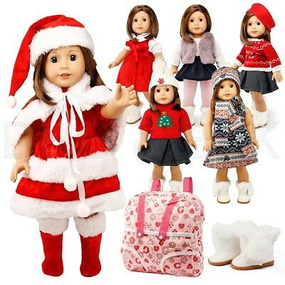 "Doll Clothes for American Girl 18"" inch Dolls Wardrobe Makeover Outift"