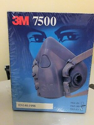 3M 7500 Half Mask Respirator with particulate filters, Dust mask, woodturning.