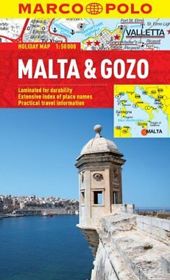 Malta & Gozo Marco Polo Holiday Map by Marco Polo 9783829770279