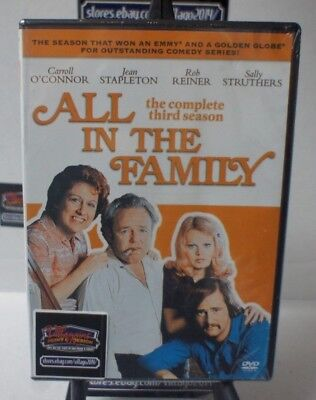 All in the Family:The Complete Third Season  NEW DVD FREE SHIPPING!!!
