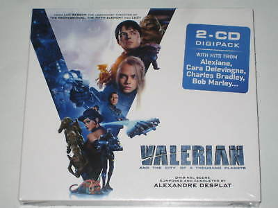 Valerian And The City Of A Thousand Planets New 2 X Cd Digipak 2017 David Bowie