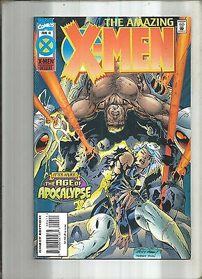 X-Men : The Amazing X-Men #4  Age Of Apocalypse  Marvel  1995  Nice!!!