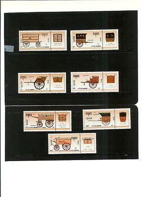 """CAMBODIA STAMPS #1019 - 1025 (7) MNH F-VF """"Stampworld London '90""""  1990  issue"""