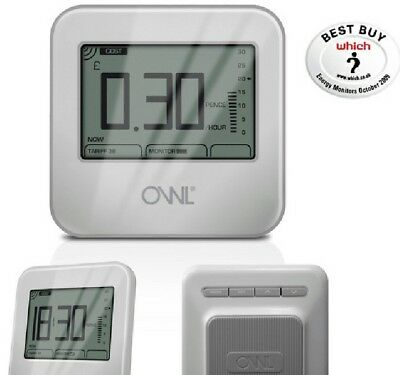 OWL micro+ CM180-002 energy saving monitor brand new