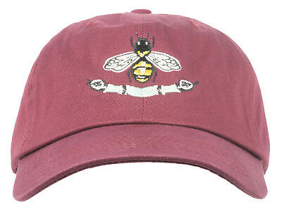 35793578143 Any Memes Italian Luxury Bee Snake Dad Hat Strapback Curved Bill Cap Unisex