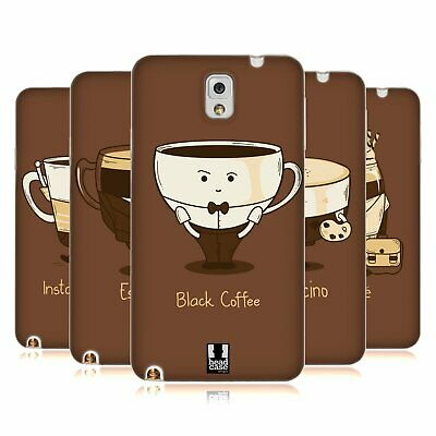 Head Case Designs Coffee Personalities Soft Gel Case For Samsung Phones 2