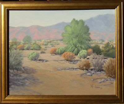 Michael Johnson Impressionist & Plein Air Desert Landscape Oil Painting #3 NR
