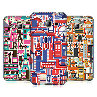 Head Case Designs Country Landmarks Soft Gel Case For Samsung Phones 3