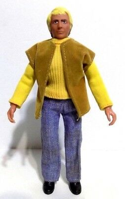 "MEGO STARSKY and HUTCH ""HUTCH"" 8 INCH TYPE 2 VINTAGE 1970'S ACTION FIGURE"