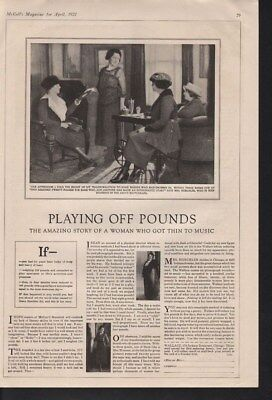 1922 Wallace Music Fitness Grace Horchler Gym Dance Ad14203