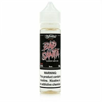 Bad Santa eJuice by Infamous | Mint Candy Cane, Blueberry
