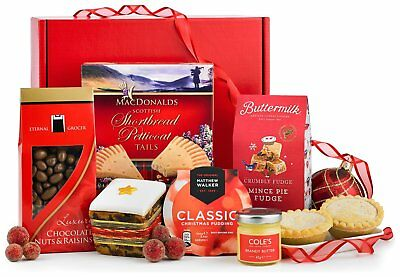 Lanchester Gifts Traditional Christmas Gift Hamper