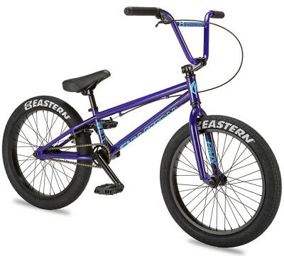"Eastern 20"" BMX Cobra Bicycle Freestyle Bike 3 Piece Crank Purple 2019 NEW"