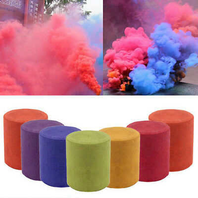 New Colorful Smoke Cake Show Smoke Effect Round Bomb Stage Photography Party Toy