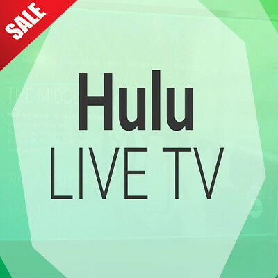 Hulu  Live TV Account subscription | 12 Months Warranty | Fast Delivery | SALE