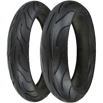 Michelin Pilot Power 120/70 ZR17 (58W) & 180/55 ZR17 (73W) Motorcycle Tyre Pair