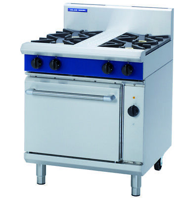 Blue Seal 750mm Gas Range Electric Convection Oven GE54D