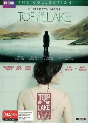 """TOP OF THE LAKE: Season 1 & 2"" DVD, 4 Disc Set - Regions [4][2] BRAND NEW"