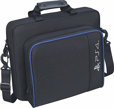 Black For PS4/PS4 Pro Multi-functional Travel Carry Case Storage Carrying Bag