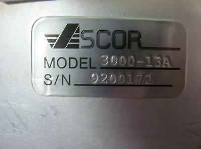 Ascor Incorporated 3000-13 OB5CI 76003550 Connector T1741