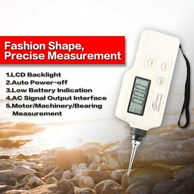 LCD Digital Vibration Meter Analyzer Tester Acceleration/Velocity/Displacement F