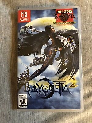 Bayonetta 2 (Nintendo Switch, 2018) - Mint condition