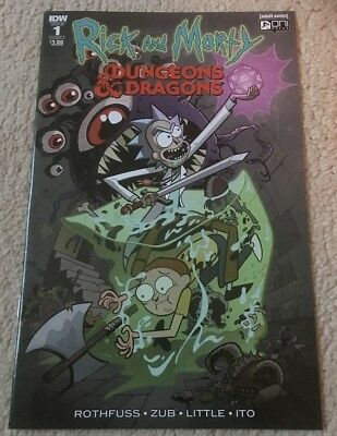 Rick and Morty vs Dungeons and Dragons 1 [IDW | Cover A]