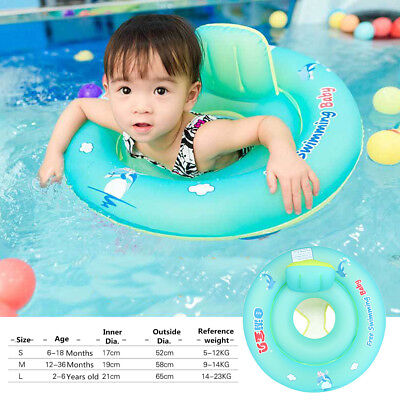Baby Float Safety Inflatable Swimming Ring Kids Swim Kids Aid Trainer S/M/L Toy