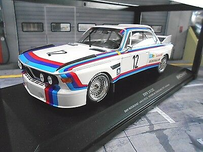 BMW 3.0 CSL #12 Amon Stuck Winner 6h Nürburgring 1973 Works RAR Minichamps 1:18