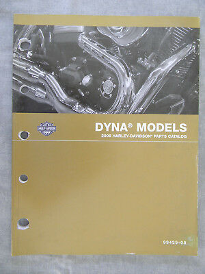 Harley Davidson 2008 DYNA Models PARTS CATALOG  99439-08
