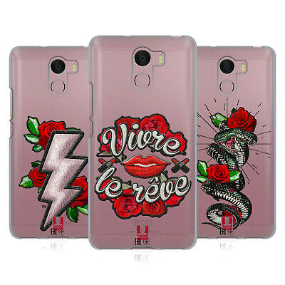 Head Case Embroidery Prints Soft Gel Case For Wileyfox Phones