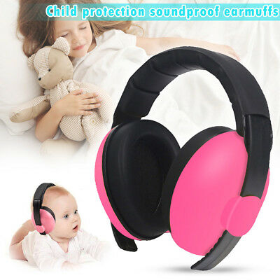 Child Baby Hearing Protection Safety Ear Muffs Kids Noise Headphones Adjustable